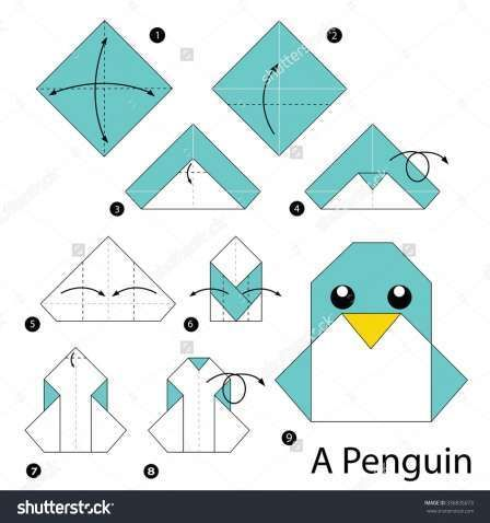 simple origami step by step instructions