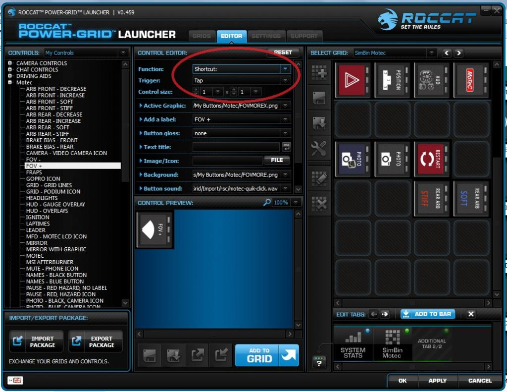 Roccat power grid how to make custom sounds