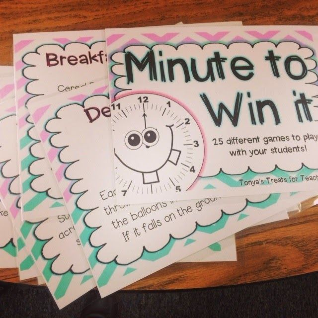 minute to win it printable game instructions