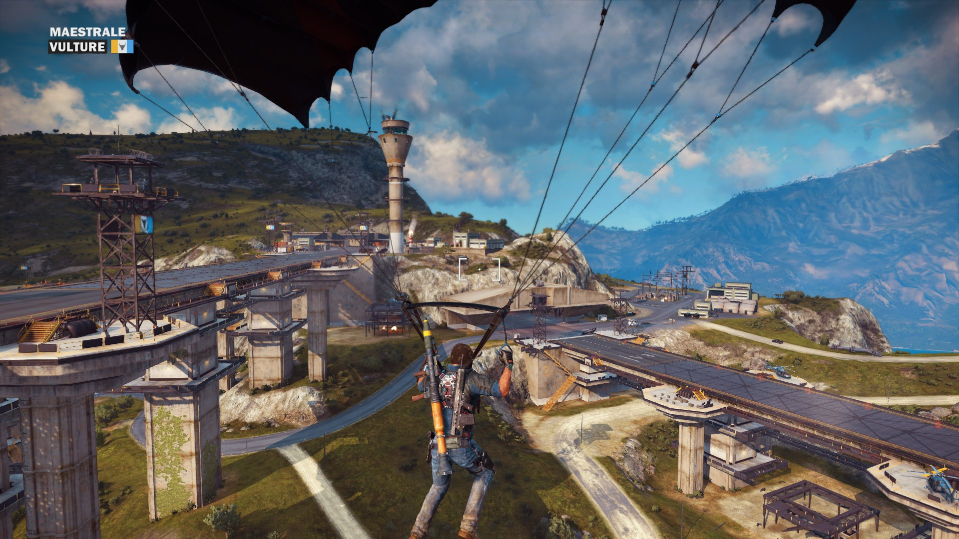Just cause 3 how to change crosshair