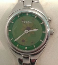 fossil big tic watch instructions