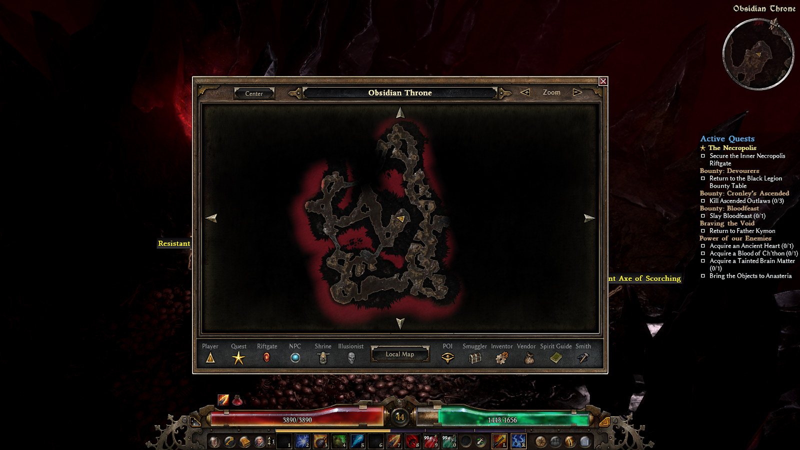 Grim dawn how to get potion of clarity