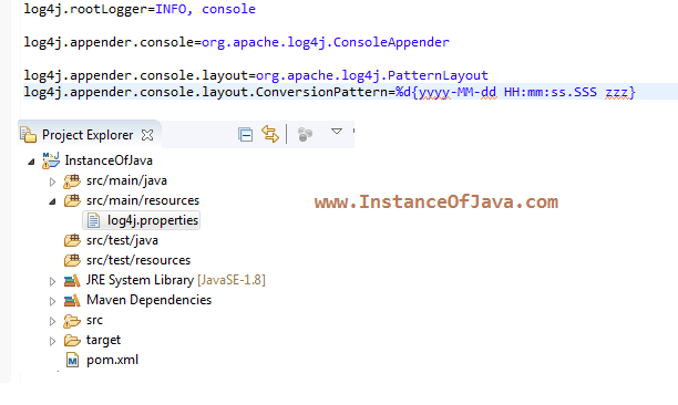 Org apache log4j consoleappender example