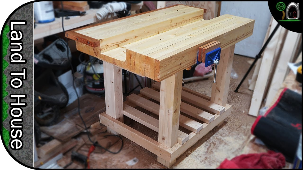 Lowes how to build a workbench