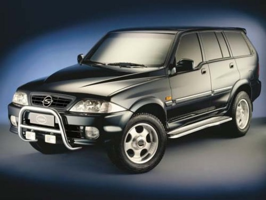 manual for ssangyong musso 2006