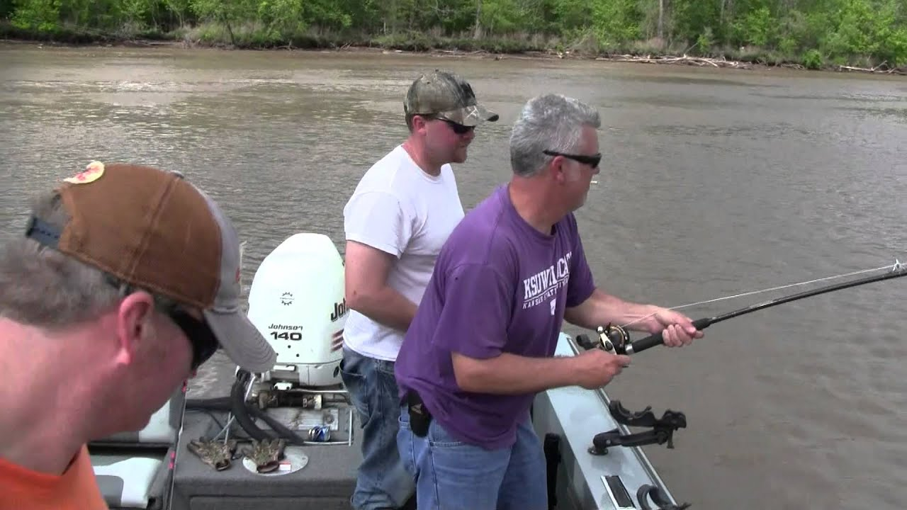 Spoonbill guides lake of the ozarks