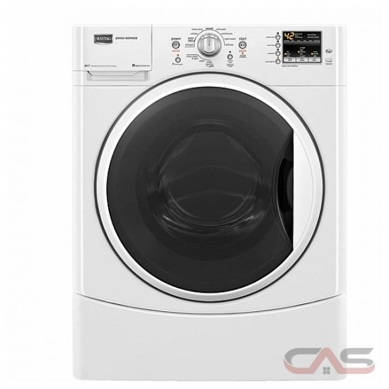 Maytag commercial front load washer manual
