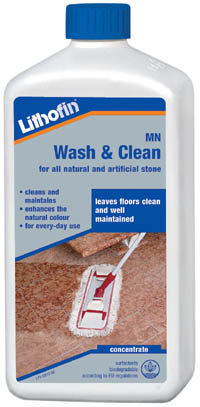 Lithofin wash and clean how to use