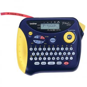 brother p touch 1250 manual