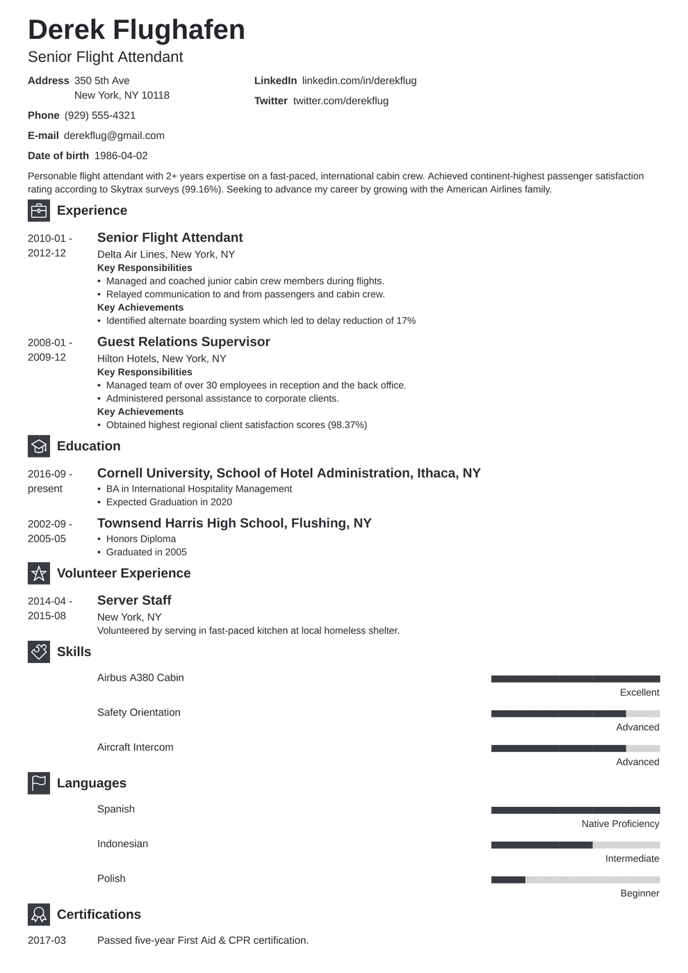 Cathay pacific flight attendant application form