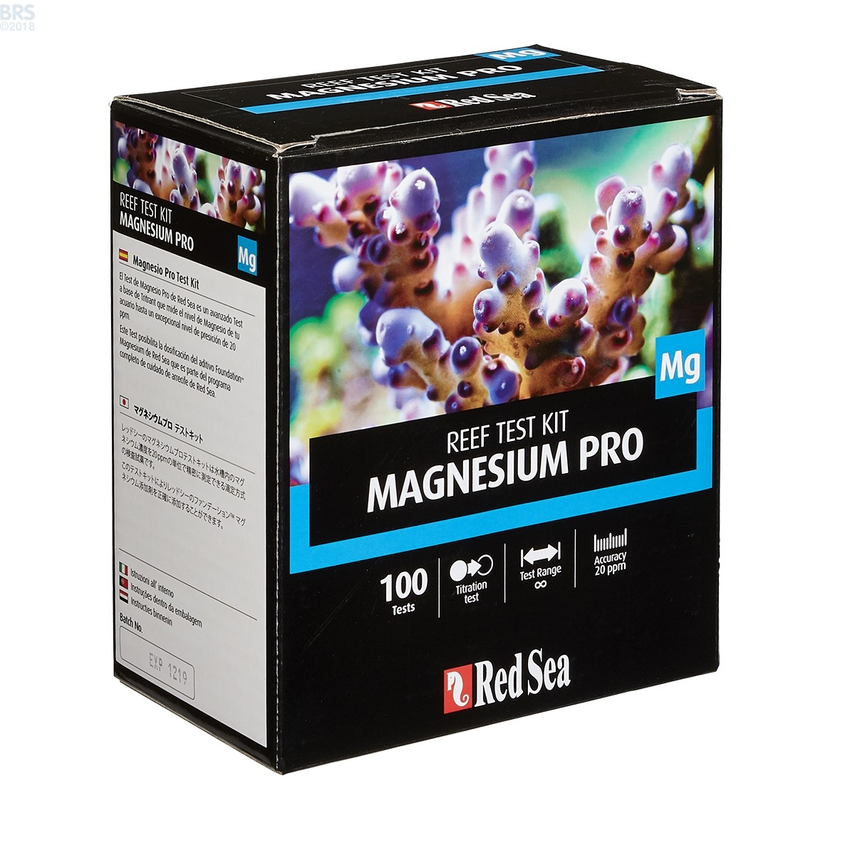 red sea magnesium test instructions