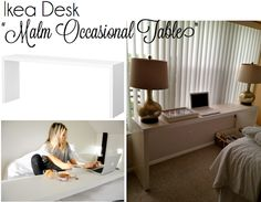 malm occasional table instructions