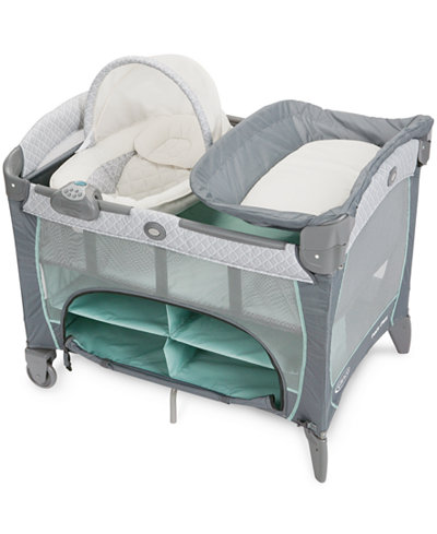 pack and play newborn napper instructions