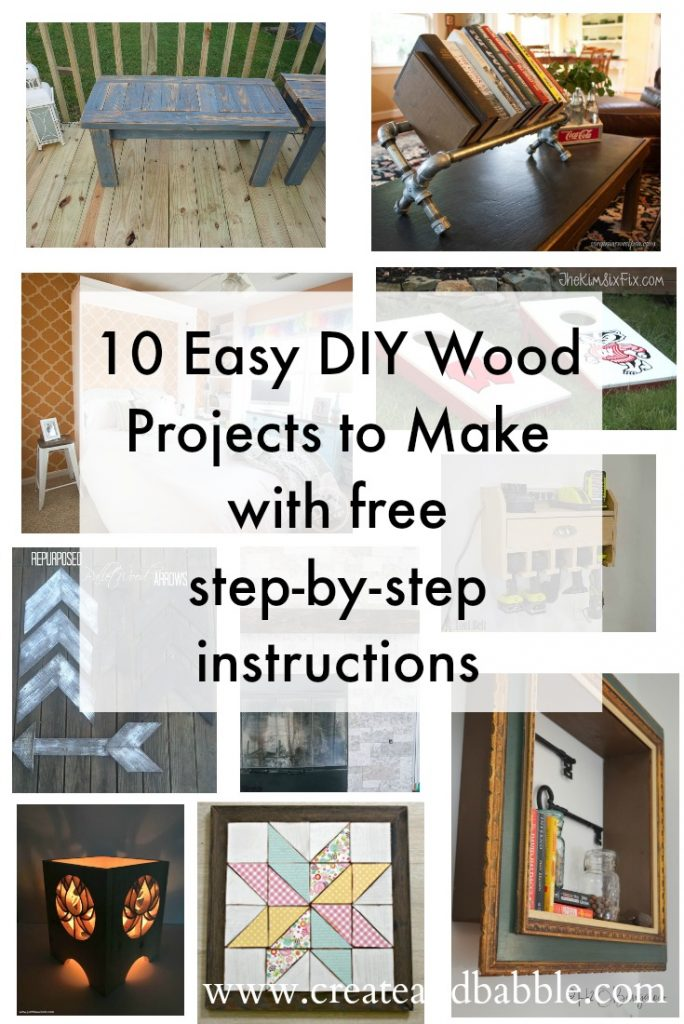 easy wood projects with instructions