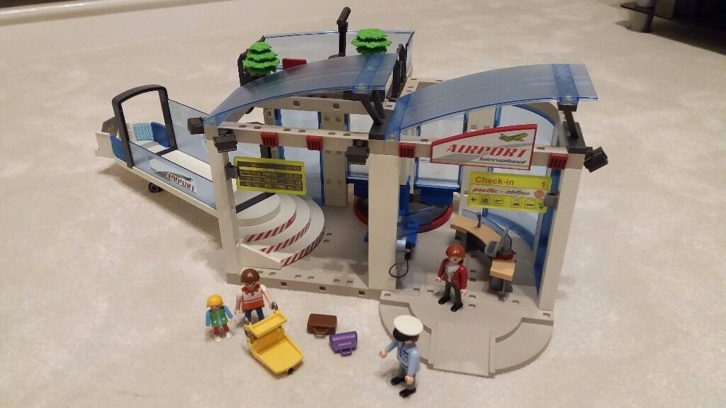 playmobil airport instructions 4311