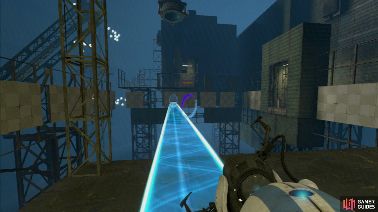Portal 2 coop how to get to course 6